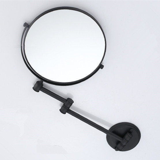Bath Mirrors Cosmetic Makeup Mirror 8 Inch Round Wall Mirrors Of Bathroom  Floding Magnifying Mirror Brass Black Mirrors H 52 In Bath Mirrors From  Home ...