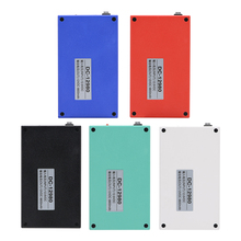 MasterFire Super DC 12V 9800mAh Rechargeable Portable Lithium-ion Battery Batteries Pack With Case DC-12980 5 colors