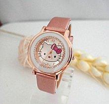 Hot Selling Gogoey cute hello kitty watch children women ladies crystal dress quartz wrist watch Relogios Feminino kt021