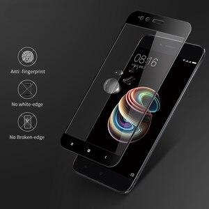 Image 3 - Szkło hartowane 20D dla Xiaomi Mi 5X 5C 5S ochraniacz ekranu na Redmi uwaga 5 Pro 5A 5 Plus Mi5 X C S Mi5x Mi5s 9H folia ochronna