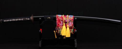 41'SİZ YAPANENSİ SAMURAI SWORD KATANA DAĞDIĞI DAĞLI TANG IRON - Ev dekoru - Fotoqrafiya 2