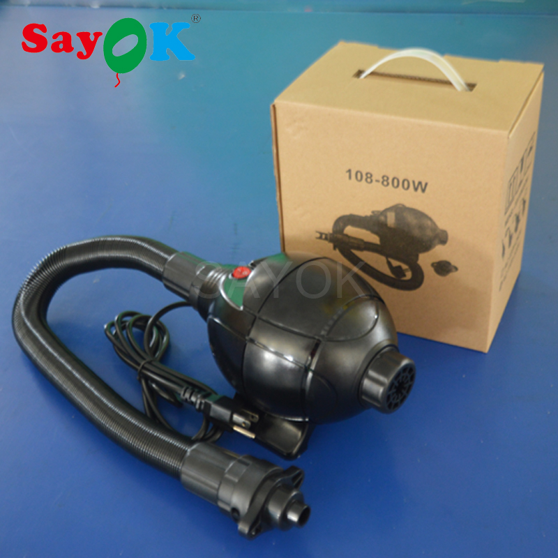 Free shipping electric air pump air blower for bubble soccer, water ball, zorbing ball, water roller, inflatable boat