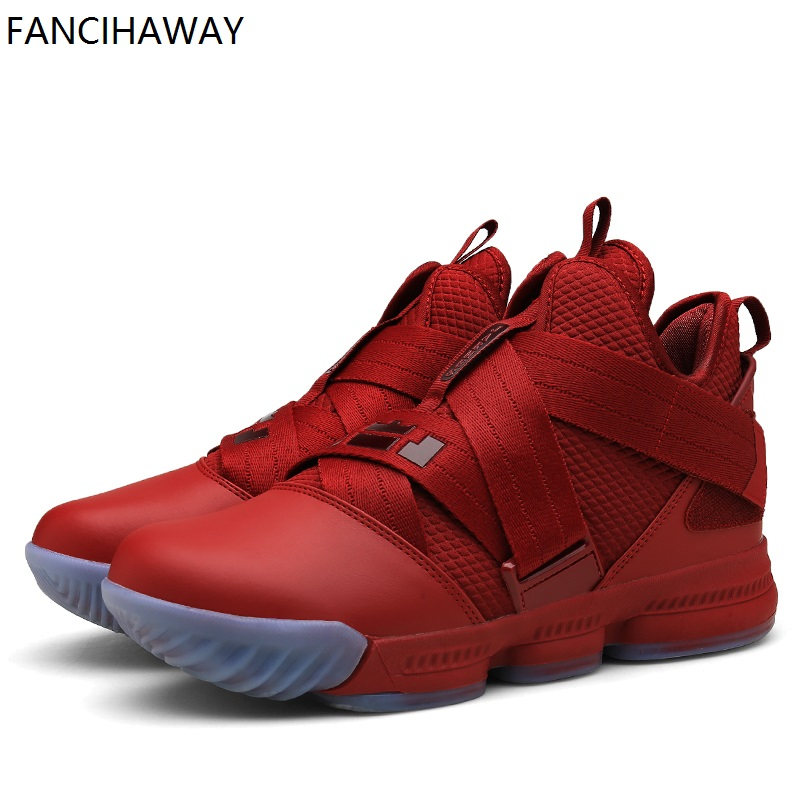 FANCIHAWAY 2019 New Arrival Basketball Shoes Men Strive For Greatness Goes Military Camo Fabric-Adhesive-Equipped Sneaker Women