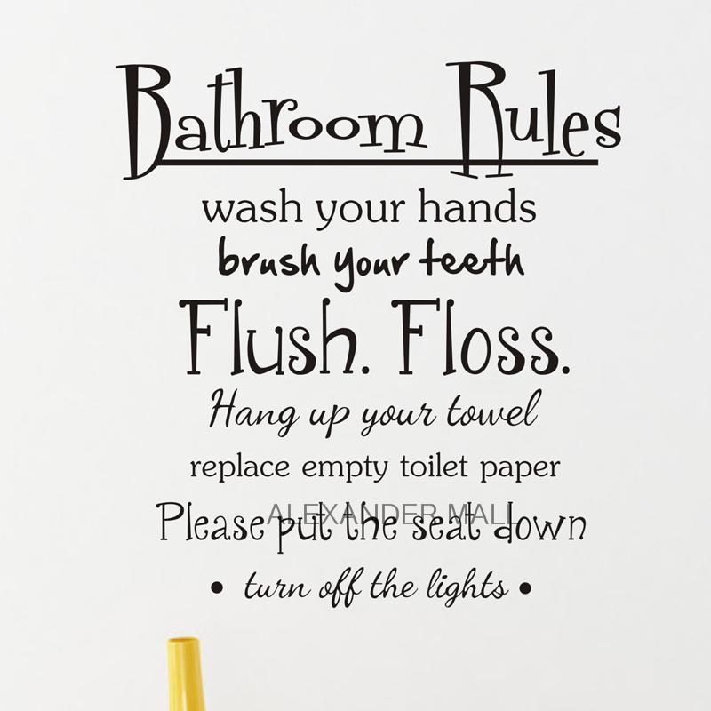 Diy Bathroom Quotes – House Decor Ideas