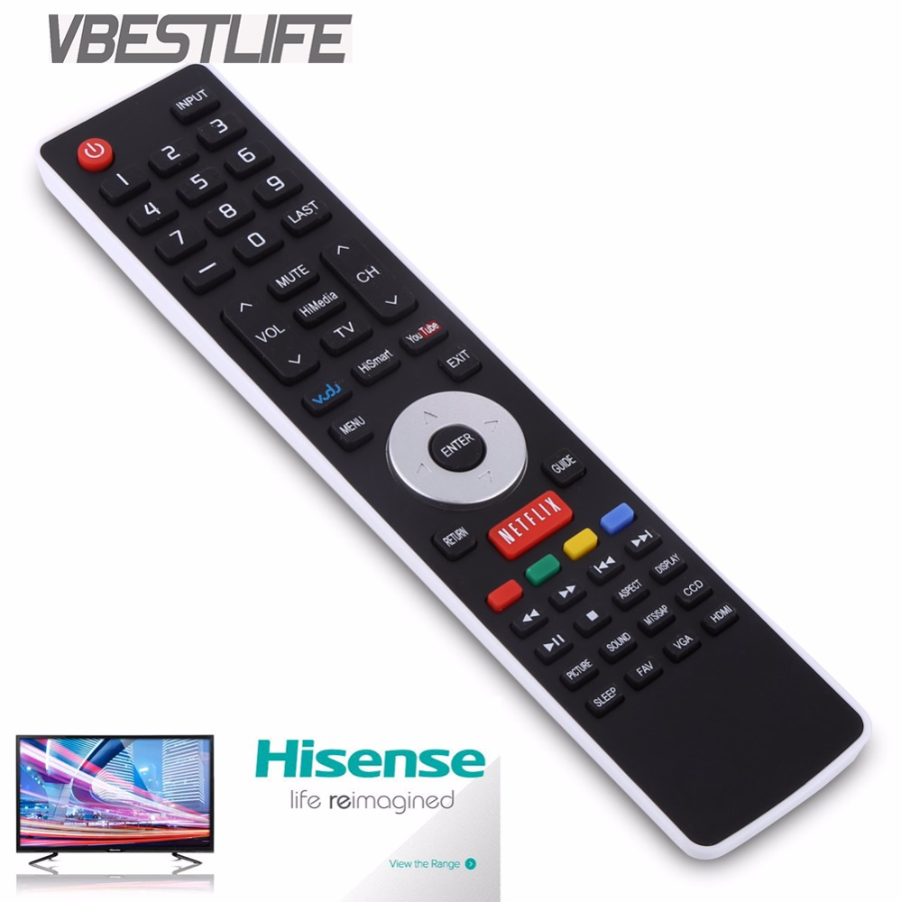 US $4 97 23% OFF VBESTLIFE EN 33926A TV Remote Control For Hisense Smart  LCD LED Television TV Controller Free Shipping Free Shipping-in Remote