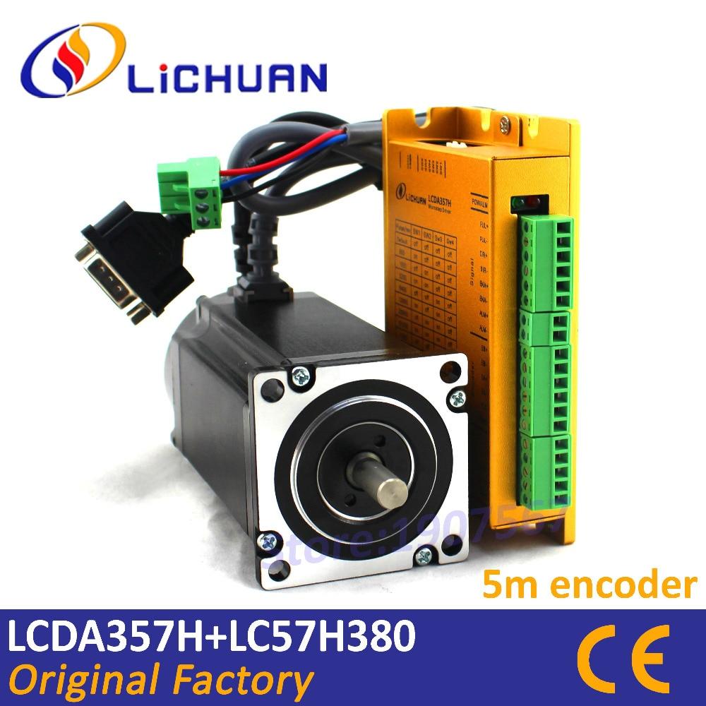 Wiring Cnc Lichurn Lcda357h Diy Enthusiasts Diagrams Nema 23 Stepper Motor Diagram Kit 3 Phase 3nm Dc Hybrid Servo 57 Closed Loop Rh Aliexpress Com Tiny G Router