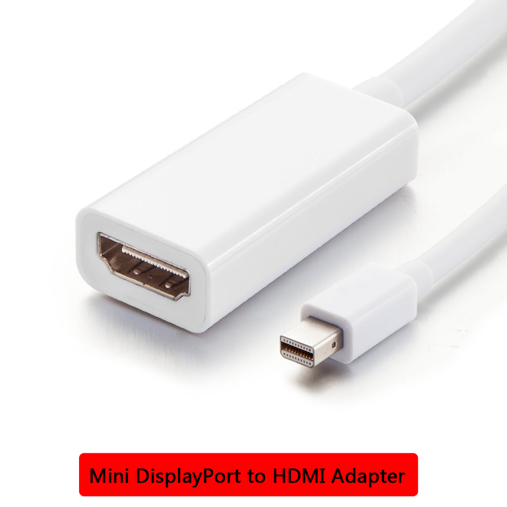 Display Port DP Male to HDMI Female Cable Adapter Converter For MacBook Pro