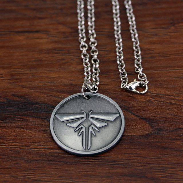 Online shop vintage game the last of us firefly necklace metal vintage game the last of us firefly necklace metal round tag necklaces pendants kolye collares mozeypictures Gallery