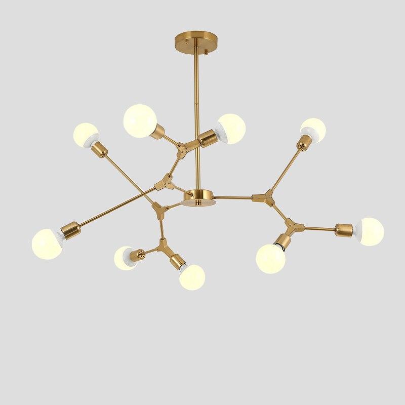 Modern LED Pendant Lights Nordic Art Restaurant Pendant Lamps 3 6 9 Light Dining room Hanglamp