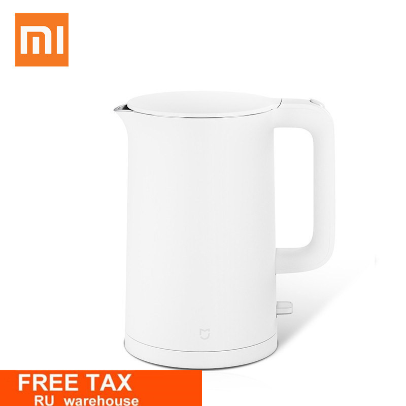 New Xiaomi Original Electric kettle fast boiling stainless teapot Water Kettle Mi home 1.5L Insulation White 2018 Mijia