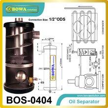 Спиральный сепаратор масла, применяемый в системах с использованием неразмытых хладагентов