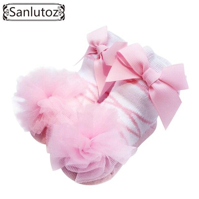 sanlutoz beb calcetines calcetines infantiles para nias recin nacidos princesa regalo de vacaciones de cumpleaos baby