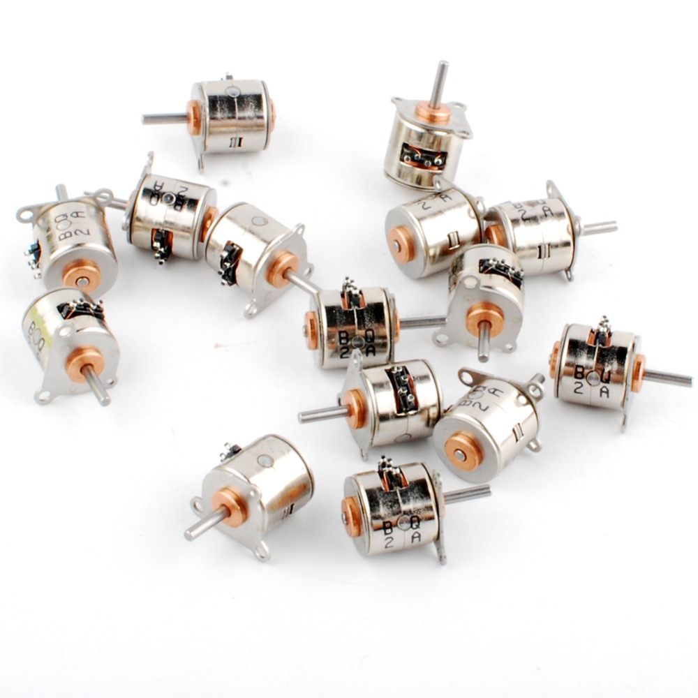 Good Deal 15pcs 6v Dia 10mm Micro 2 Phase 4 Wire Stepper Motor 18 Diagram Degress Mini Stepping
