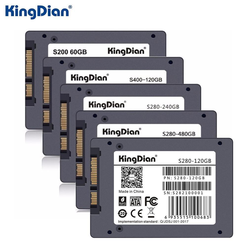 KingDian SSD SATA3 2.5 pouces 120G 240 GB 480G disque dur Pour pc de bureau portable