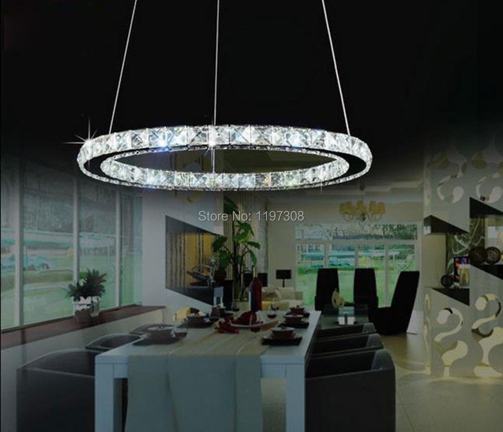 Modern LED Crystal Chandelier Lights Lamp Fixture Lustres