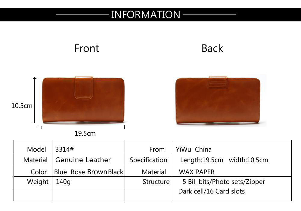 Leaher 割引価格 Spencers 財布ホルダー良質のファスナーポケットのマルチカラーファッションクラッチ 2