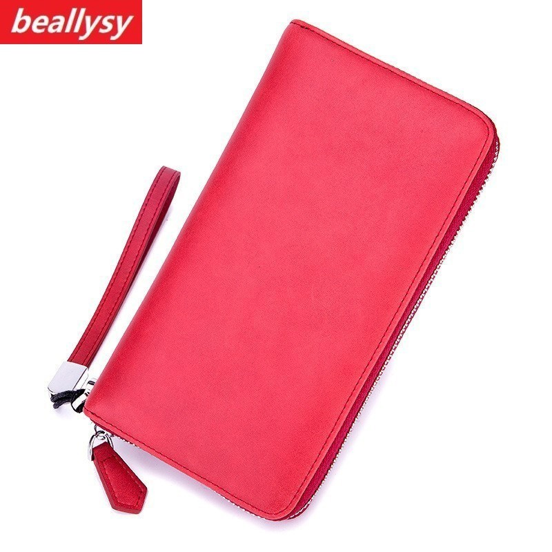 Fashion Unisex Card Holders Wallet Genuine Leather Male Business RFID Cards Wallet High Capacity Female Credit Holders Purses