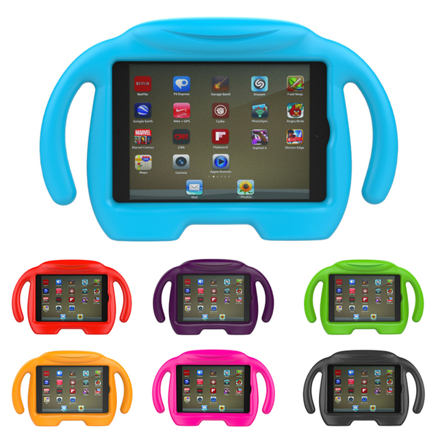 Kids Child Handle Foam for Apple iPad Tablet Smart Stand Cover fit for iPad Mini
