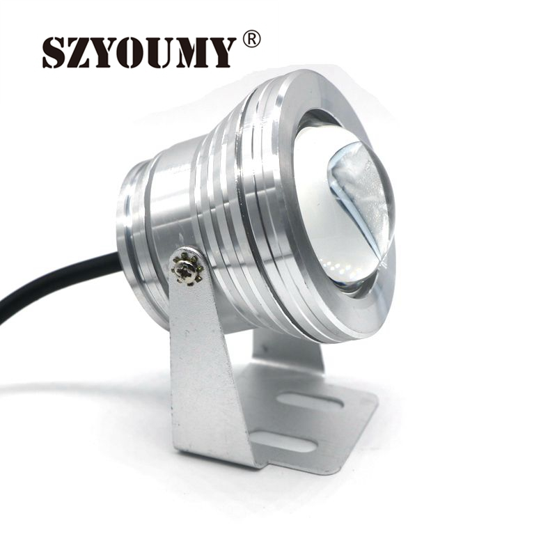 Lower Price with Szyoumy Dc12v 10w Rgb Led Underwater Light Waterproof Ip68 Swimming Pool Light Aquarium Led For Fish Tank Fountain Pool Led Lights & Lighting