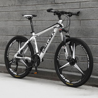 Cross Country Mountain Bike 27 and 30 Variable Speed Three knife Men and Women Hydraulic Disc Brake Road Bicycle