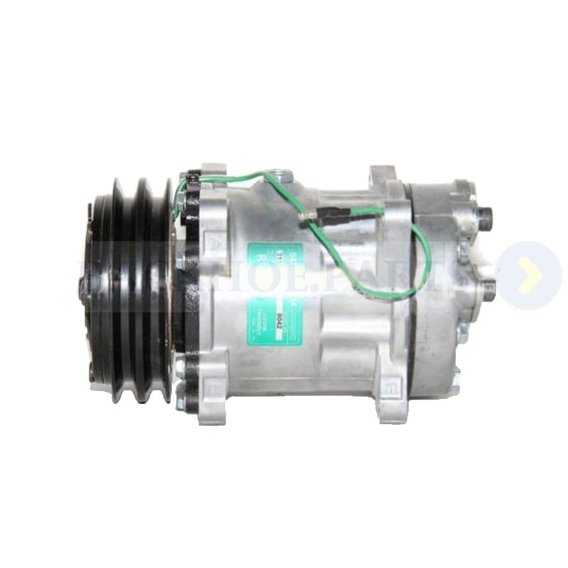 Air Conditioning Compressor VOE14518640 for Volvo Excavator EC135B EC140B EC160B EC180B EC210B EC240B