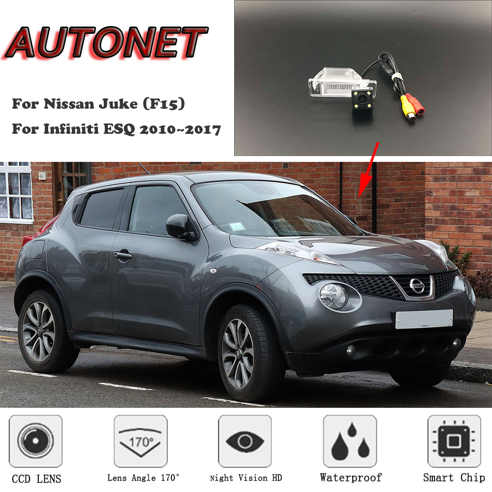 AUTONET Backup Rear View Camera For Nissan Juke (F15) For Infiniti ESQ 2010~2017  CCD/HD Night Vision License Plate Camera