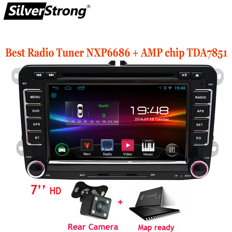 FreeShipping 2Din Android Car DVD Player for Volkswagen Passat JETTA Golf MK5 MK6 B6 B7 Car Android DVD GPS Navigation VW Radio Toyota Land Cruiser