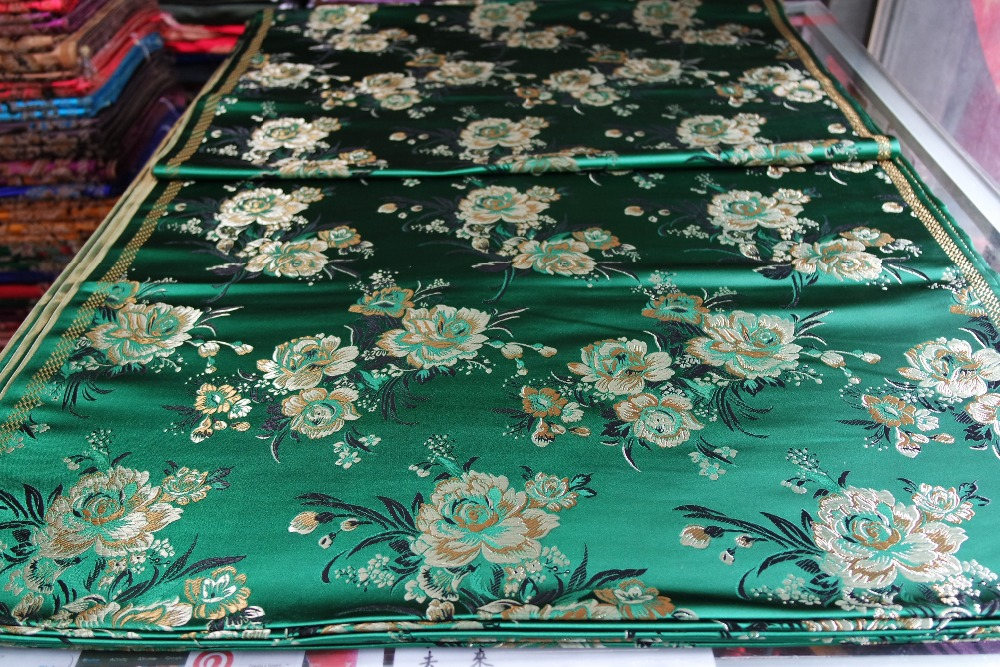 chinese traditional brocade Polyester 75CM width cheongsam cushion - Arts, Crafts and Sewing