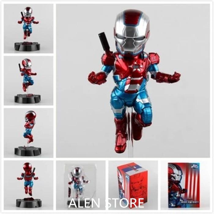 ALEN Marvel Anime Iron Man 3 Action Figure Superhero Flying Iron Man Patriot Tonny Mark 00 PVC Figure Kids Toy 23cm Chritmas Gif marvel iron man mark 43 pvc action figure collectible model toy 7 18cm kt027