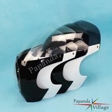 "Papanda мотоцикл тачскрин Сенсорная панель лобового стекла автомобиля обтекатель фары для автомобиля лобового стекла классический 5 3/"" для Harley Cafe Racer Sportster Dyna 39 мм"