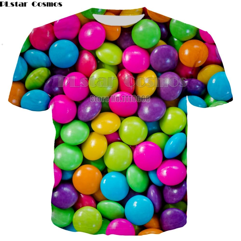 Summer Fashion Women/men 3d   t     shirt   Short sleeve Spoof Fun Life Food hamburger pizza New Funny high quality Mens Tees Tops 7XL