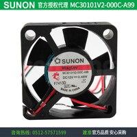 YENI SUNON MC30101V2-000C-A99 3010 12 V 0.48 W DC soğutma fanı