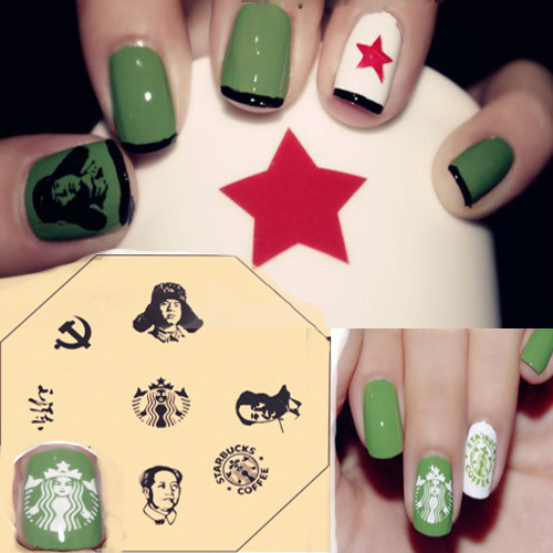 Free Shipping Stamping Nail Plates Nail Design Stamp The Statue Of