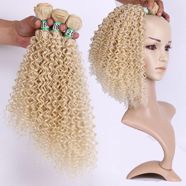 Фото синтетические кудрявые вьющиеся волосы омбре пряди для наращивания цена
