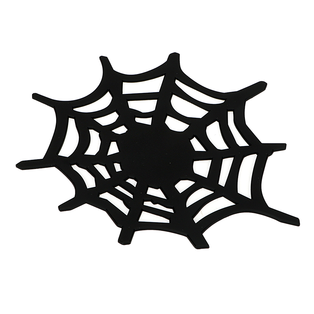 Black Color High Quality Silicon Anti-slip Mat Spider style