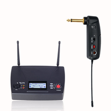 Electric Guitar Bass Wireless Transmitter Receiver Musical Instrument Microphone Blowing