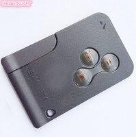 HXLIWLQLUCKY 3 כפתור מרחוק כרטיס חכם שליטת מפתח שבב pcf7947 433 Mhz עבור רנו מגאן 2 משלוח חינם