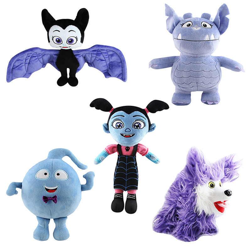 Junior Vampirina Figure The Vamp Bat Girl Dolls Soft Plush Stuffed Animal PLush  Vampirin girls Toys