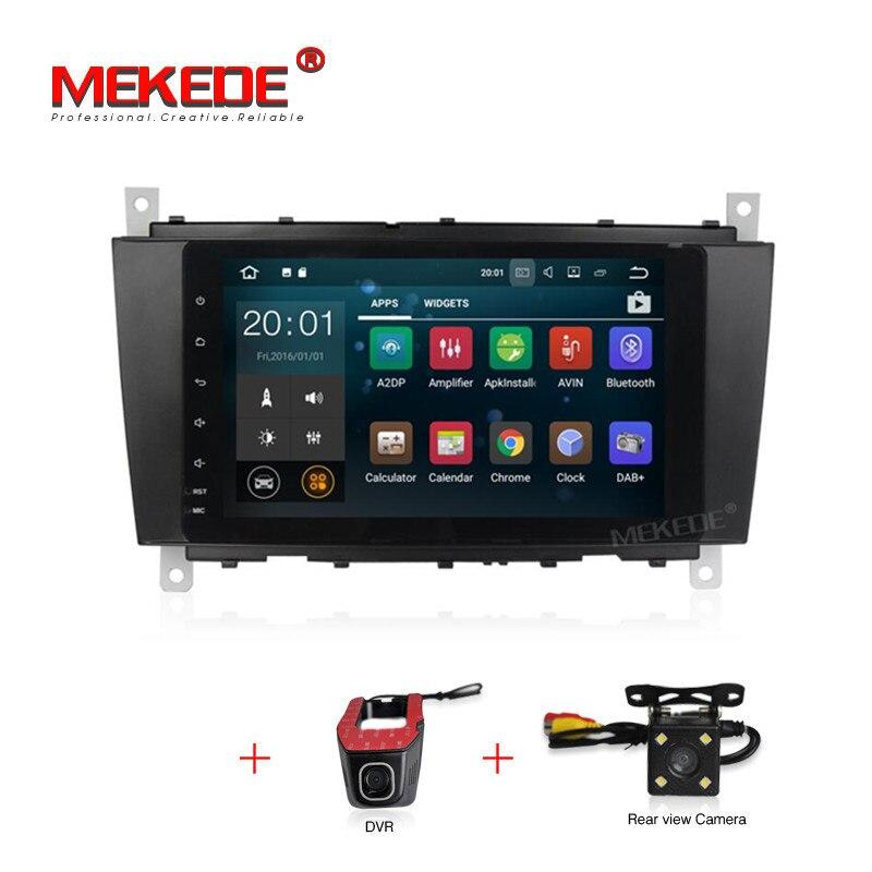 Android 7.1 RAM 2g 1024*600 2 DIN Car DVD GPS STEREO Per Mercedes/Benz W203 W209 w219 A-Classe A160 C-Classe C180 C200 CLK200