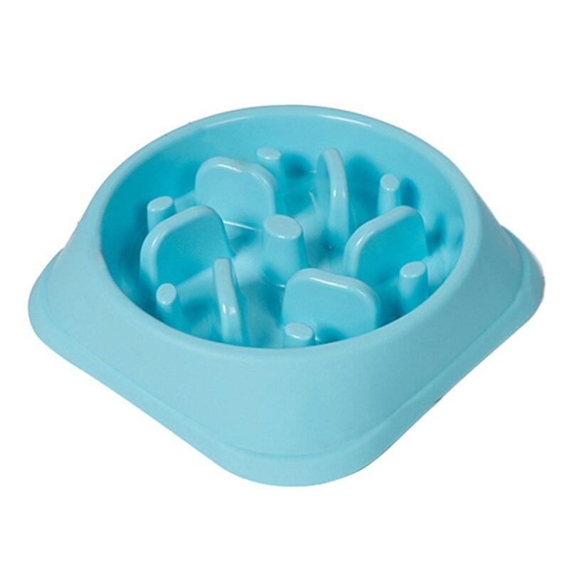 Strange New Plastic Anti-Stabbing Dog Bowl Jungle Bowl Healthy Food Bowl Coma Bowl Prevent Obesity