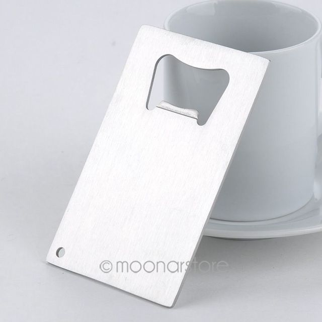 1 piece wallet size stainless steel credit card bottle opener 1 piece wallet size stainless steel credit card bottle opener business card beer openers colourmoves