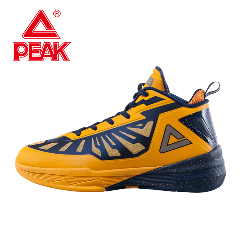 PEAK SPORT LIHTIN III Men Basketball Shoes FOOTHOLD Cushion-3 Tech Star Series Boots Competitions Athletic Sneakers EUR 40-50 peak men athletic basketball shoes tech sports boots zapatillas hombres basketball breathable professional training sneakers