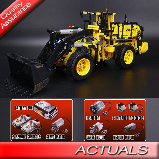 Super Remote Control Lepin 20006 Technic Volvo L350F Wheel Loader RA-13