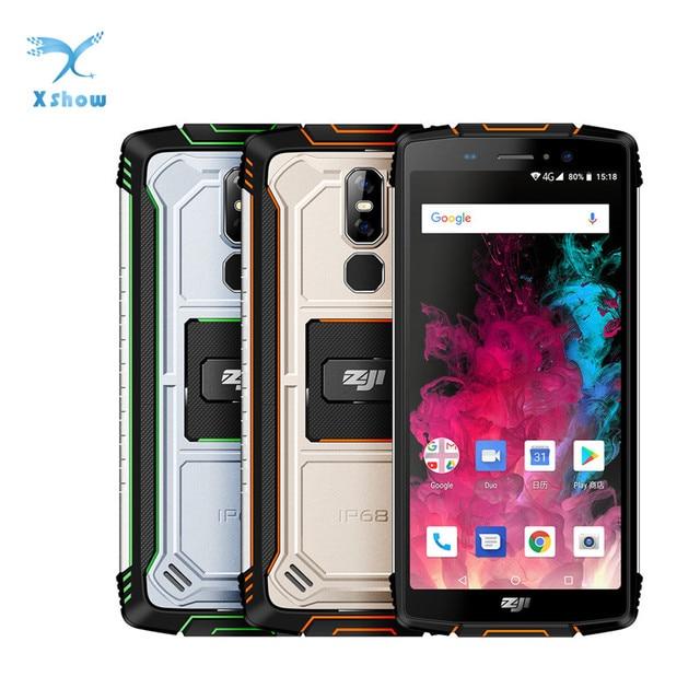 هاتف ذكي أصلي من Homtom Zoji z11 بمعيار IP68 وشاشة 5.99 بوصة ومعالج MTK6750T ثماني النواة وذاكرة وصول عشوائي 4 جيجابايت وذاكرة قراءة فقط 64 جيجابايت وبطارية 10000 مللي أمبير في الساعة يعمل بنظام الأندرويد 8.1 مع خاصية فتح القفل على الوجه
