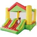 Yard uso doméstico casa do salto inflável duplo slide bouncy castelo crianças pulando brinquedos oferta especial para o oriente médio