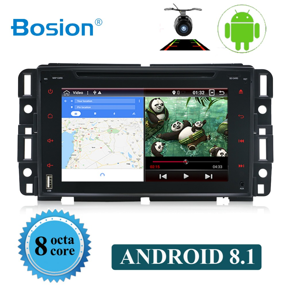 car multimedia player Android 8.1 8 Core 2G RAM Car DVD GPS Player For GMC Chevrolet Chevy Yukon Sierra Tahoe Acadia Suburbancar multimedia player Android 8.1 8 Core 2G RAM Car DVD GPS Player For GMC Chevrolet Chevy Yukon Sierra Tahoe Acadia Suburban