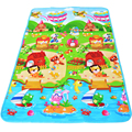New Double-Site Baby Play Mat 180*120cm Fruit Letters and Happy Farm Waterproof Baby Mat Baby Carpet Developing Mat