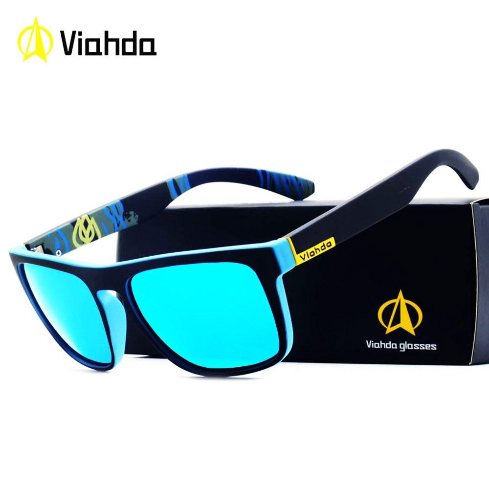 Viahda 2018 Beliebte Marke Polarisierte Sonnenbrille Sport Sonnenbrille Angeln Brillen De Sol Masculino