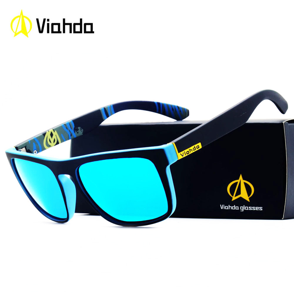 Viahda 2018 Popular Brand Polarized Sunglasses Sport Sun Glasses Fishing Eyeglasses De Sol Masculino