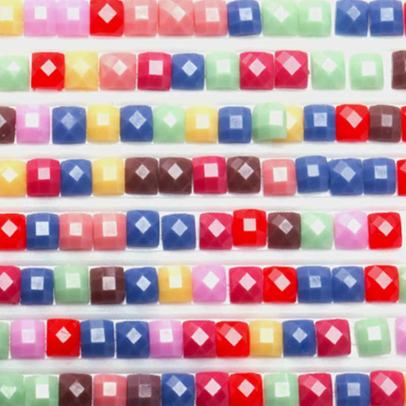 Berlian Lukisan Cross Stitch Bunga Pola Colorful gambar Bor Berlian Mosaik Penuh Kit Dekorasi Rumah Baru Kedatangan